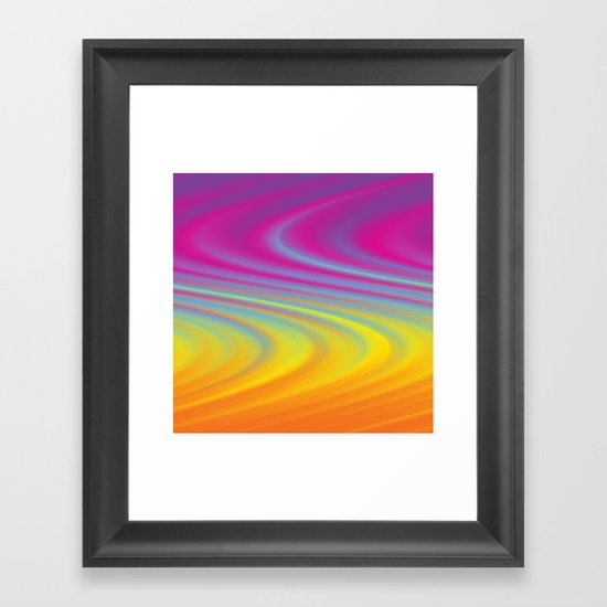 CURVY! Framed Art Print
