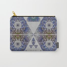 Chromatic Cosmic Eye Sacred Geometry Print Carry-All Pouch