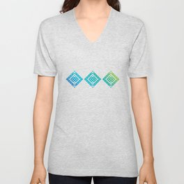 Geometric Baltic 2 Unisex V-Neck
