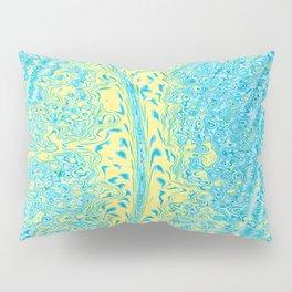 Yellow Fluid Effect Pillow Sham