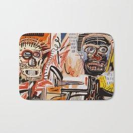 A vectorised Basquiat Bath Mat