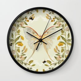 The Hum of Bees Wall Clock