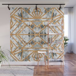 Marble Deco Shade One; Wall Mural