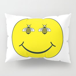 Bee happy Pillow Sham