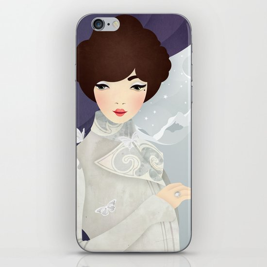 The Wings of the Dove: Violet iPhone & iPod Skin