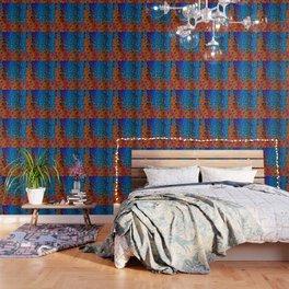 Burning Textile Drops Wallpaper