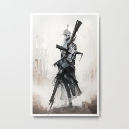 Apparition of War Metal Print