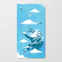 Ciel Symphonie Canvas Print