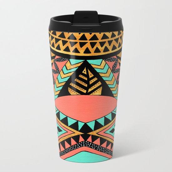 PeruNative Metal Travel Mug
