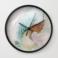 Portrait of a memory Wall Clock