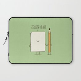 Together we can do great things! Laptop Sleeve