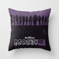 Mass Effect 2 Throw Pillow
