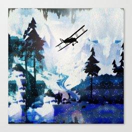 Yukon Ho! Canvas Print