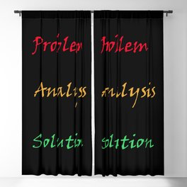 traffic lights problem analysis solution Blackout Curtain