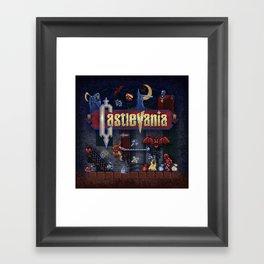 Vania Castle Framed Art Print