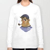 sailor Long Sleeve T-shirts featuring Sailor by Eloise Raelynn Girard