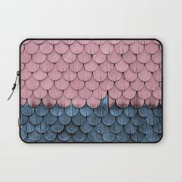 SHELTER / rose and light blue Laptop Sleeve
