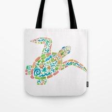 Surf Turtle Tote Bag