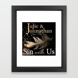 Sin With Us Framed Art Print