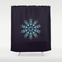 Flaky Shower Curtain