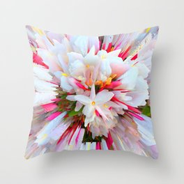 Flowers of  Pure Love Essence Throw Pillow