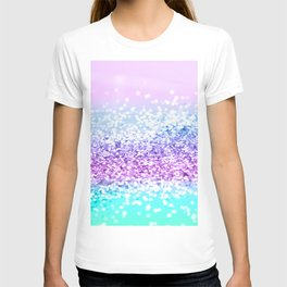 Unicorn Girls Glitter #18 #shiny #decor #art #society6 T-shirt