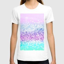 Unicorn Girls Glitter #18 #shiny #decor #art #society6 T-shirt
