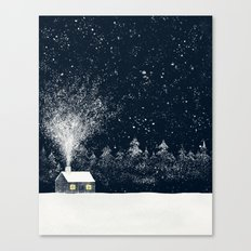 The Snow Makers Canvas Print