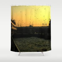 istanbul Shower Curtains featuring Istanbul by habish