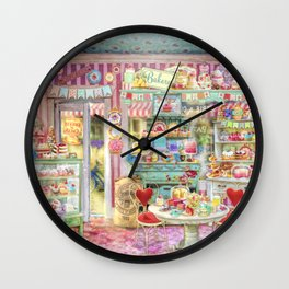 The Little Cake Shop Wall Clock