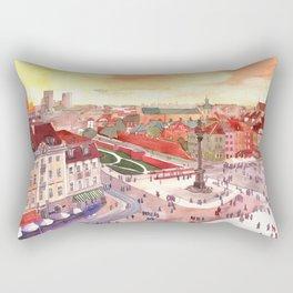 Evening in Warsaw Rectangular Pillow