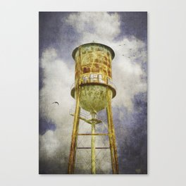Hampton Station water tower Canvas Print