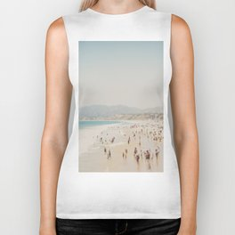 summer time in Santa Monica ... Biker Tank