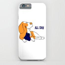 Hund iPhone Case