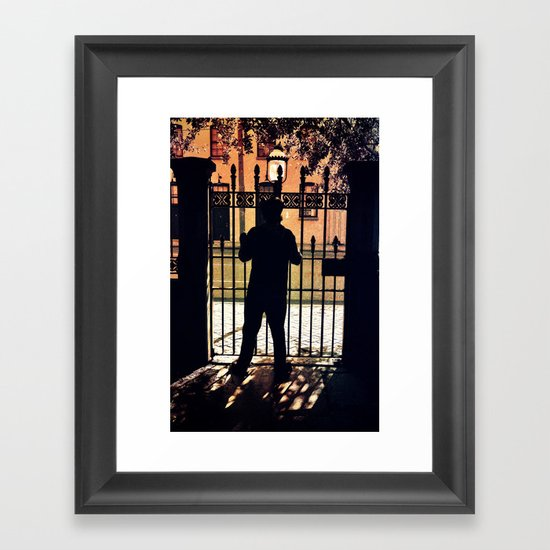 Fireside Fidelity Framed Art Print