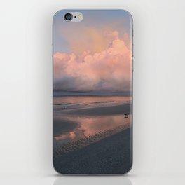 Morning Walk on the Beach iPhone Skin