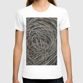 Dried branch background T-shirt