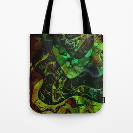 Abstract DM 03 Tote Bag