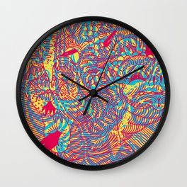 CARB OVERLOAD! Wall Clock