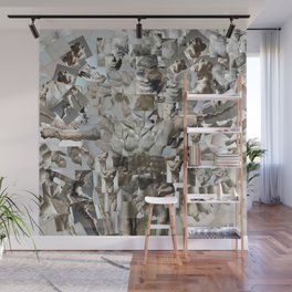 Leap - Sculpture Collage Photomontage Wall Mural