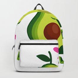 Let's Avocuddle Vegan Or Vegetarian Couple Gift Backpack