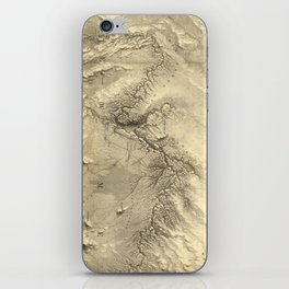 Vintage Map of The Colorado River (1858) iPhone Skin
