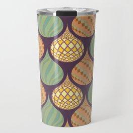 Vintage Deco Travel Mug