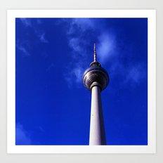 Fernsehturm de Berlín Art Print