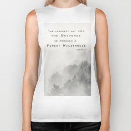 """""""Forest Wilderness"""" Biker Tank"""