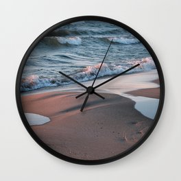 Georgian Bay Sunset Wall Clock