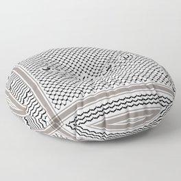 Land Speaks Arabic 3 Floor Pillow