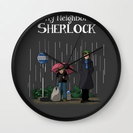 My neighbor Sherlock Wall Clock