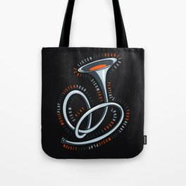 Heart Horn Tote Bag