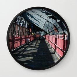 Williamsburg Bridge Wall Clock